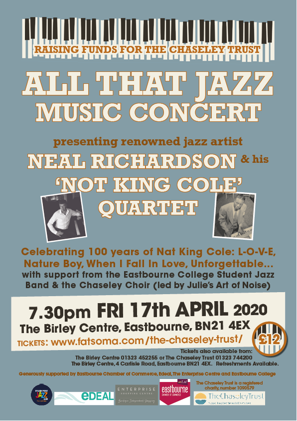 All That Jazz event at Chaseley Trust